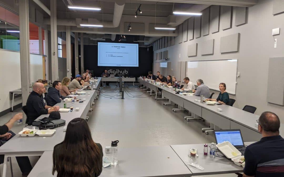 Première rencontre annuelle de Force TI (année 2021-2022)